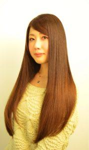 【スーパーロングを美しく魅せる】ナチュラルストレートヘア