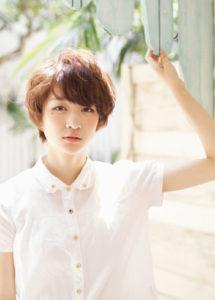 【柔らか女子のショートスタイル】マシュマロショート